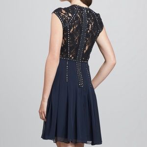 MY FAVORITE Rebecca Taylor Lace Back Party Dress
